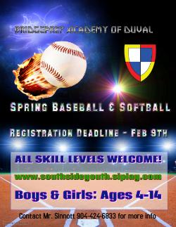 Baseball & Softball Registration